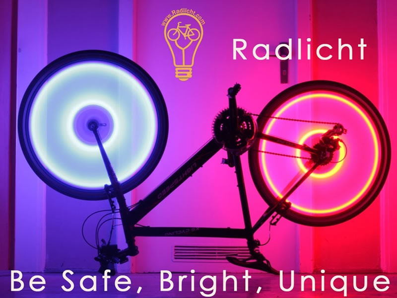 Radlicht will make your ride safe!